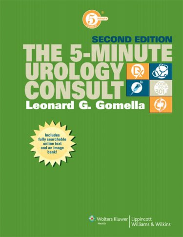 Five-Minute Urology Consult. Text with Internet Access Code Cover Image