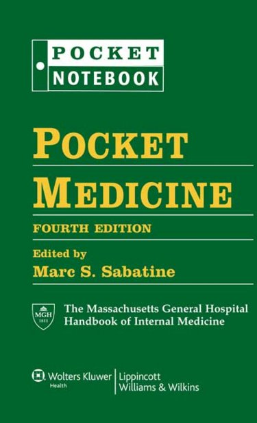 Pocket Medicine: Massachusetts General Hospital Handbook of Internal Medicine. Includes Binder Cover Image