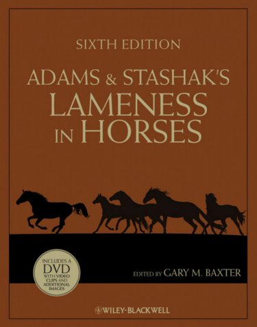 Adams and Stashaks Lameness in Horses. Text with DVD Cover Image