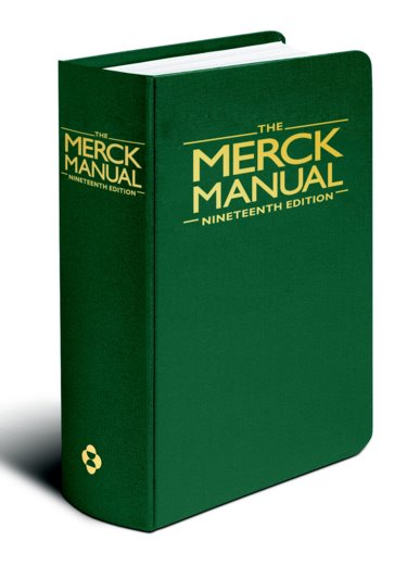 Merck Manual of Diagnosis and Therapy Cover Image