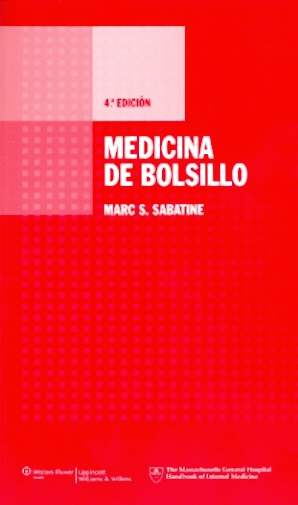 Medicina de Bolsillo (Pocket Medicine: Massachusetts General Hospital Handbook of Internal Medicine) Cover Image