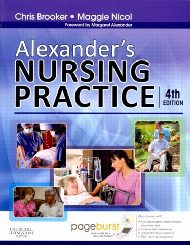 Alexanders Nursing Practice. Text with Internet Access Code Cover Image