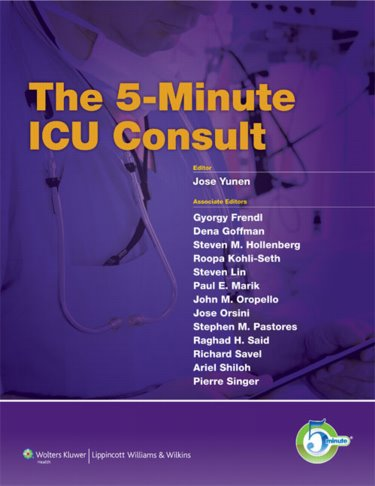 5-Minute ICU Consult Cover Image