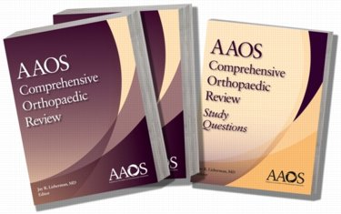 AAOS Comprehensive Orthopedic Board Review. Includes Two Review Books and One Volume of Study Questions Cover Image