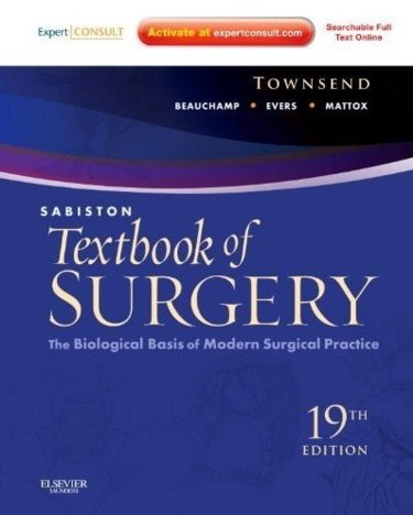 Sabiston Textbook of Surgery: The Biological Basis of Modern Surgical Practice. Text with Internet Access Code for Expert Consult Edition Cover Image