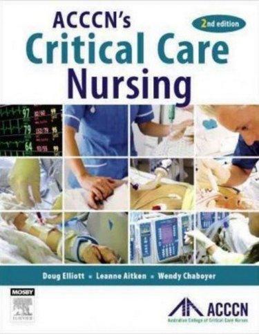 ACCCNs Critical Care Nursing Cover Image