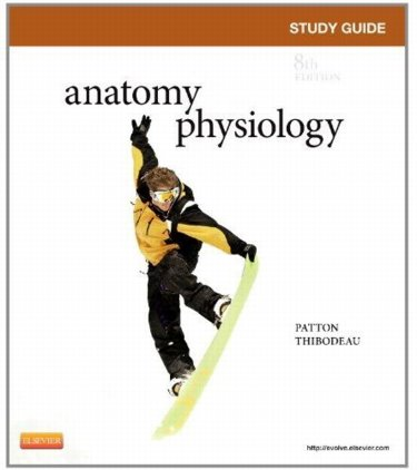 Study and Review Guide to Accompany Anatomy and Physiology Cover Image