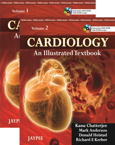 Cardiology: An Illustrated Textbook. 2 Volume Set. Text, Internet Access for Companion Website and DVD-ROM for Windows and Macintosh Cover Image