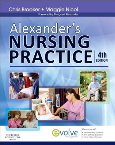 Alexanders Nursing Practice. Text with Access Code Cover Image