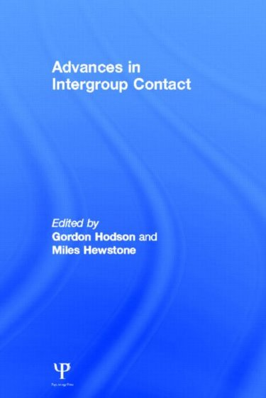 Advances in Intergroup Contact Cover Image