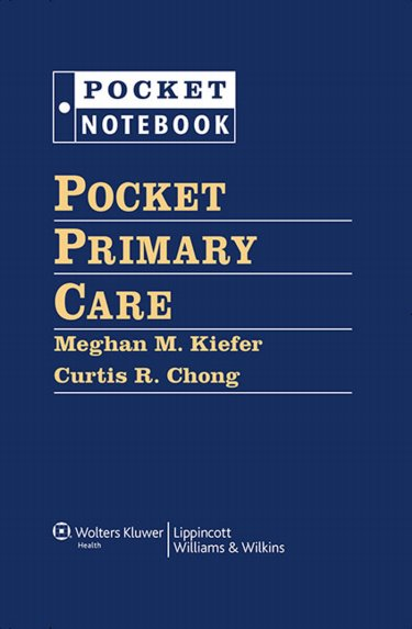Pocket Primary Care: A Massachusetts General Hospital Handbook. Includes 6-Ring Binder Cover Image