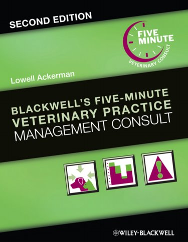 Blackwells Five-Minute Veterinary Practice Management Consult Cover Image