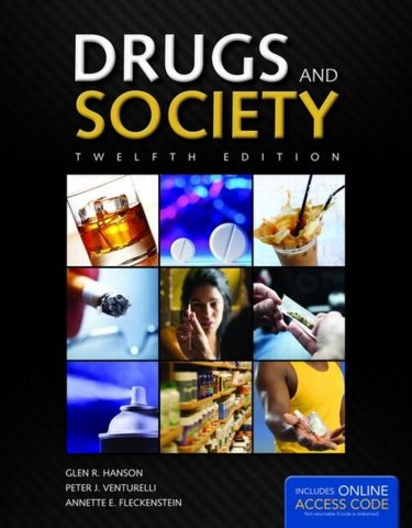 Drugs and Society. Text with Access Code Cover Image