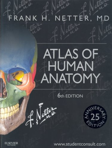 Atlas of Human Anatomy. 25th Anniversary Edition. Text with Access Code (Student Consult) Cover Image