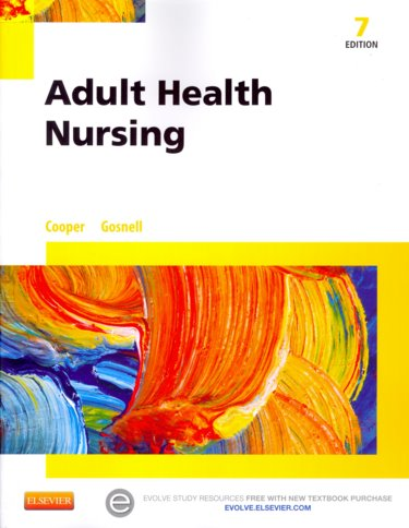 Adult Health Nursing. Text with Access Code Cover Image