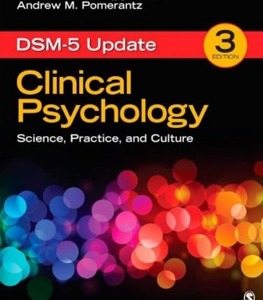 Clinical Psychology: Science, Practice, and Culture. DSM-5 Update Cover Image