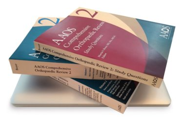 AAOS Comprehensive Orthopedic Board Review 2. Includes Two Review Books and One Volume of Study Questions (3 Book Set) Cover Image