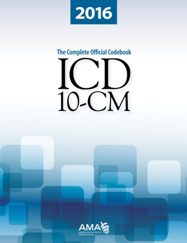 ICD-10-CM 2016: The Complete Official Codebook Cover Image