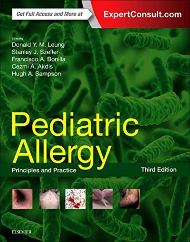 Pediatric Allergy: Principles and Practice. Text with Access Code (Expert Consult) Cover Image