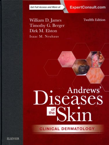 Andrews Diseases of the Skin: Clinical Dermatology. Text with Access Code (Expert Consult) Cover Image