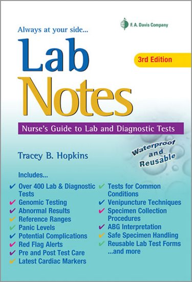 LabNotes: Guide to Lab and Diagnostic Tests Cover Image