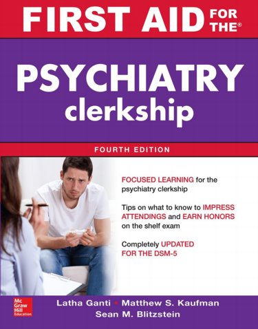 First Aid for the Psychiatry Clerkship Cover Image