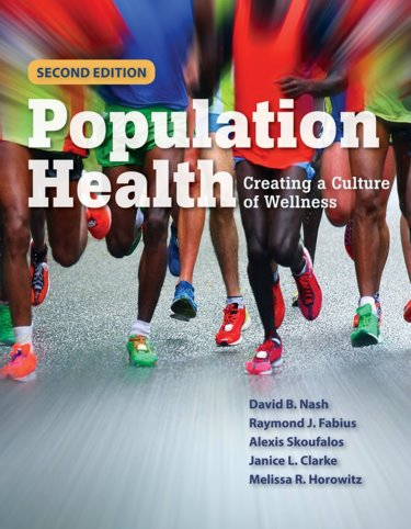 Population Health: Creating a Culture of Wellness. Text with Navigate 2 Advantage Access Code Cover Image