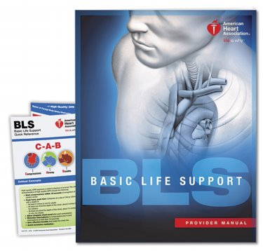 Basic Life Support: Provider Manual. Includes Quick Reference Card Cover Image