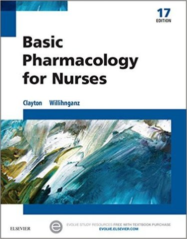 Basic Pharmacology for Nurses Package. Includes Textbook and Study Guide Cover Image