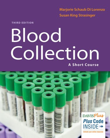 Blood Collection: A Short Course. Text with Access Code Cover Image