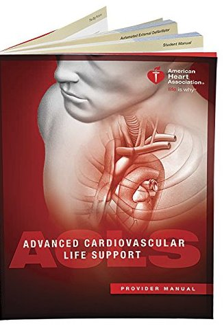 Advanced Cardiovascular Life Support: Provider Manual Cover Image