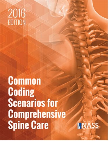 Common Coding Scenarios for Comprehensive Spine Care 2016 Cover Image