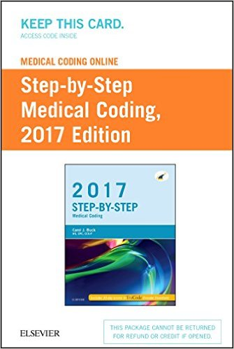 Medical Coding Online: Step-by-Step Medical Coding 2017. Access Code Cover Image