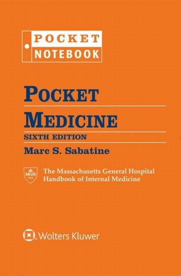 Pocket Medicine: Massachusetts General Hospital Handbook of Internal Medicine. Includes 6-Ring Binder Cover Image