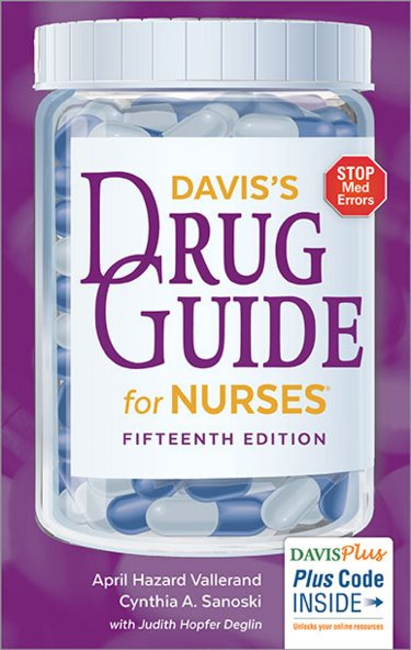 Daviss Drug Guide for Nurses Package. Includes Drug Guide and Tabers Cyclopedic Medical Dictionary Cover Image