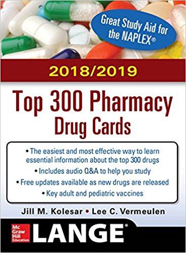 2018-2019 Top 300 Pharmacy Drug Cards Cover Image