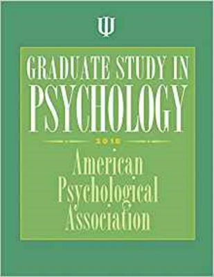 Graduate Study in Psychology 2018 Cover Image