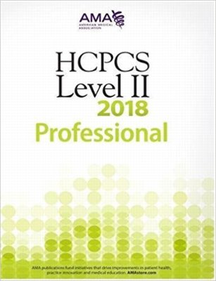 HCPCS 2018: Level II Professional Edition Cover Image