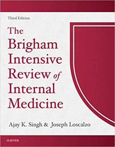 Brigham Intensive Review of Internal Medicine Text with Access Code Cover Image