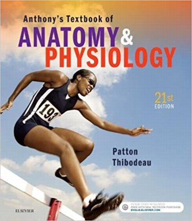 Anthonys Textbook of Anatomy and Physiology Cover Image