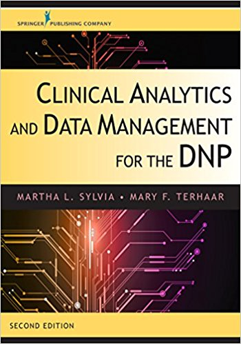 Clinical Analytics and Data Management for the DNP. Text with Access Code Cover Image