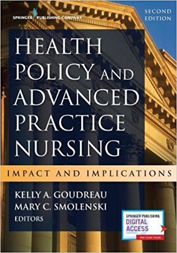 Health Policy and Advanced Practice Nursing: Impact and Implications. Text with Access Code Cover Image
