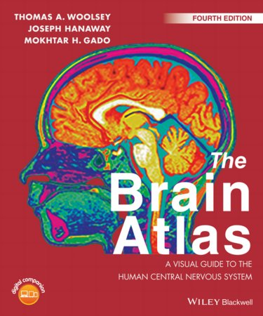 Brain Atlas: A Visual Guide to the Human Central Nervous System. Text with Access Code Cover Image