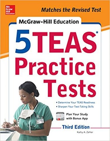 McGraw-Hill Education: 5 TEAS Practice Tests Cover Image