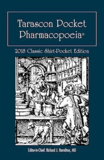 Tarascon Pocket Pharmacopoeia. Classic Shirt Pocket Edition 2018 Cover Image