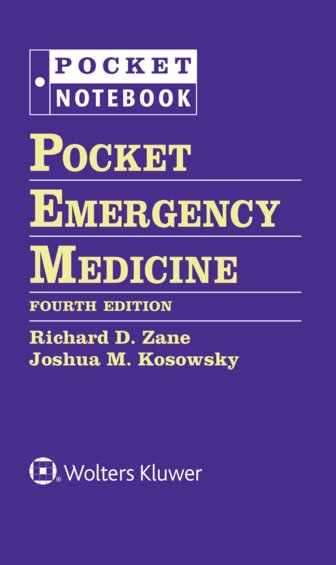 Pocket Emergency Medicine. Includes 3-Ring Binder Cover Image