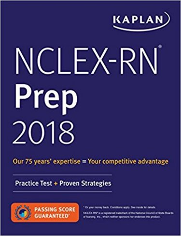 NCLEX-RN Prep 2018: Practice Tests and Proven Strategies Cover Image