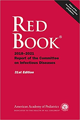 Red Book: 2018-2021 Report of the Committee on Pediatric Infectious Diseases Cover Image