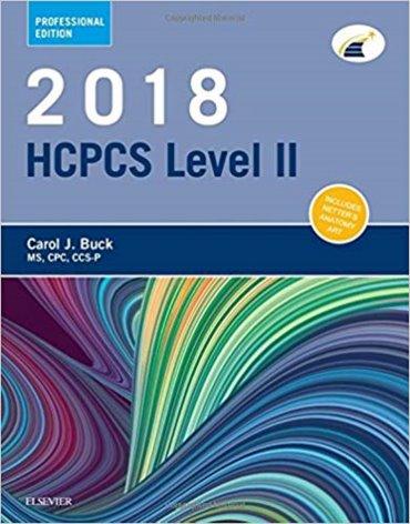 HCPCS 2018: Level II Professional Edition Cover Image