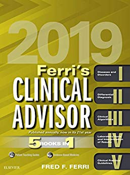 Ferris Clinical Advisor 2019: 5 Books in 1. Text with Access Code Cover Image